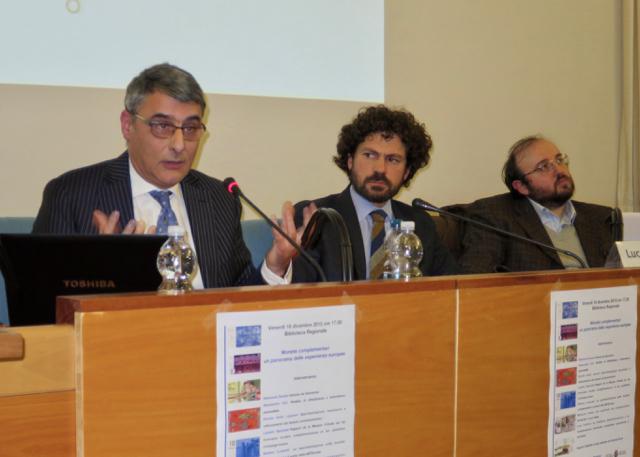 Massimo Amato prend la parole