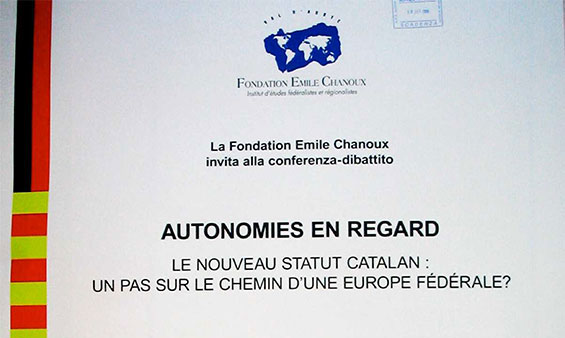 Autonomies en regard. Le nouveau Statut catalan: un pas sur le chemin de l'Europe fédérale?
