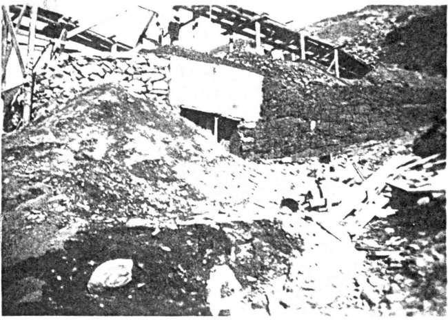 Il Centro 4 al colle del Piccolo San Bernardo nel 1937