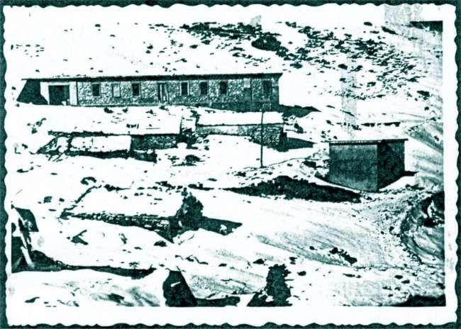 La casermetta dell'Allée Blanche nel 1939