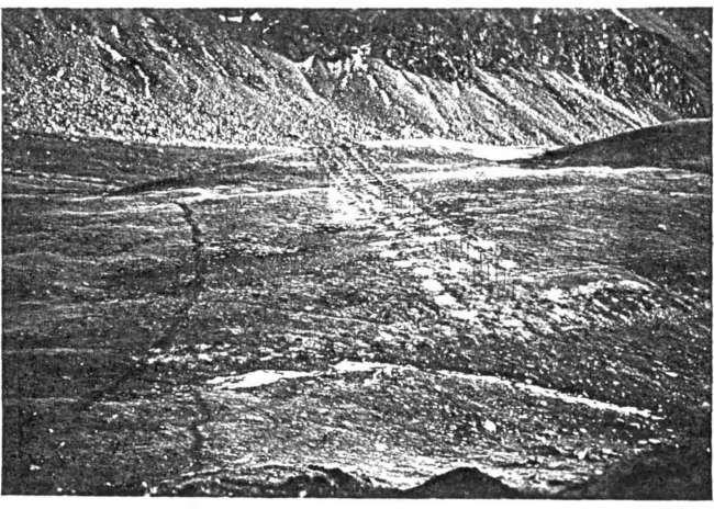 Fossato di sbarramento al Piccolo san Bernardo 1936-1938