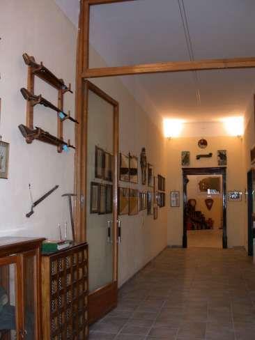 Sacrario, l'ingresso al museo.