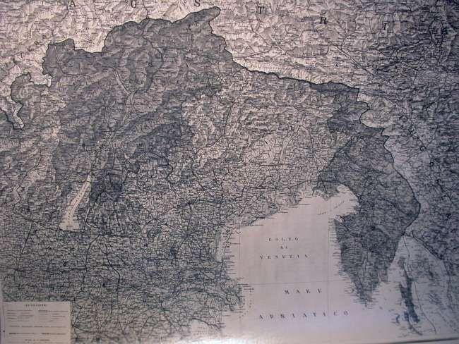 Le conquiste territoriali italiane alla fine della I Guerra Mondiale.