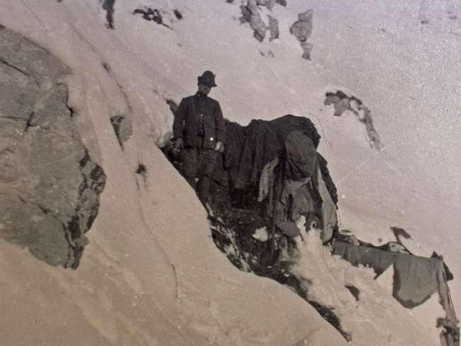 Inverno 1915, Za Kraiu, postazione e ricovero.