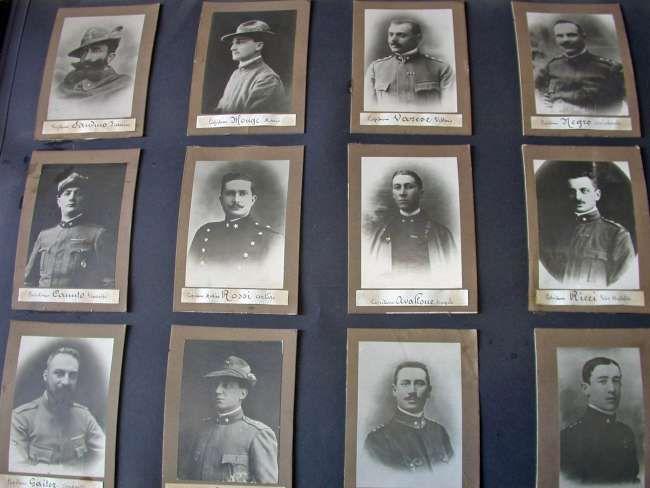 Caduti della I Guerra Mondiale.
