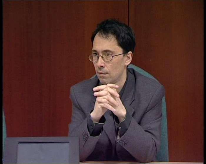 Master Aoste-Sorbonne, le Professeur Pierre Beckouche