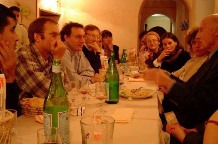 Master Aoste-Sorbonne, dîner avec l'Ambassadeur Bernard Dorin