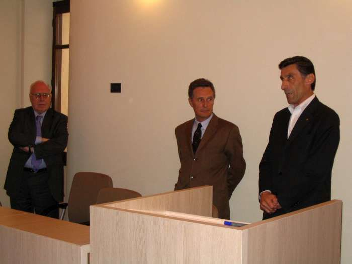 Avril 2005, inauguration de la Maison Bariller