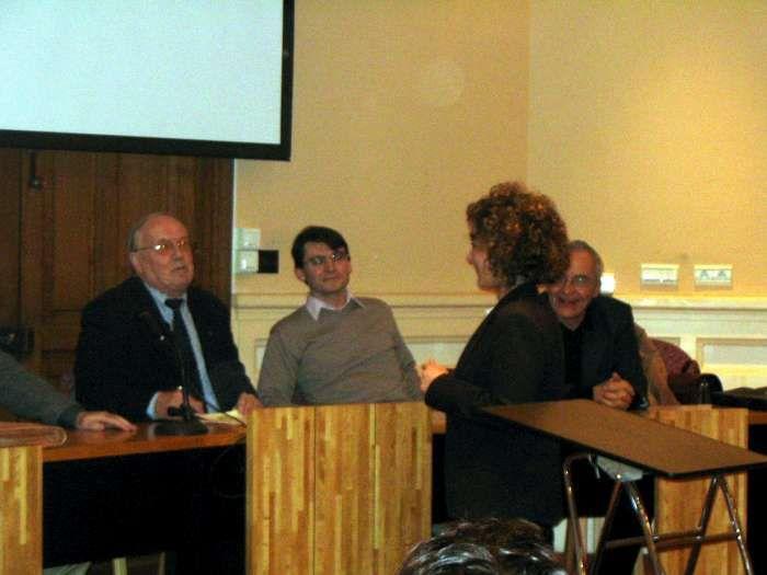 Janvier 2006, cérémonie de remise des diplômes à la Sorbonne