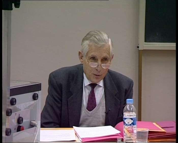 Master Aoste-Sorbonne, le Professeur Yves-Marie Laulan