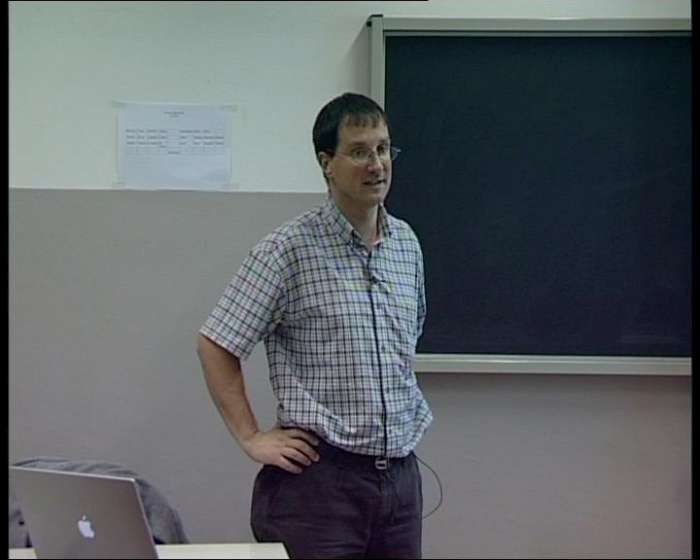 Master Aoste-Sorbonne, le Professeur Emmanuel Reynard