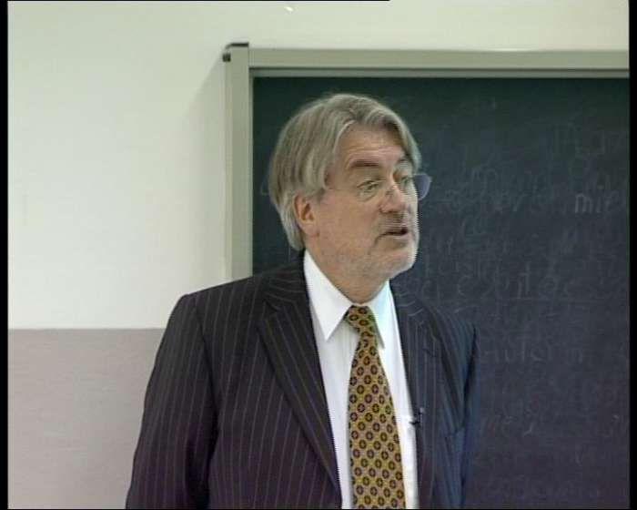 Master Aoste-Sorbonne, le Professeur Paul Bernd Spahn
