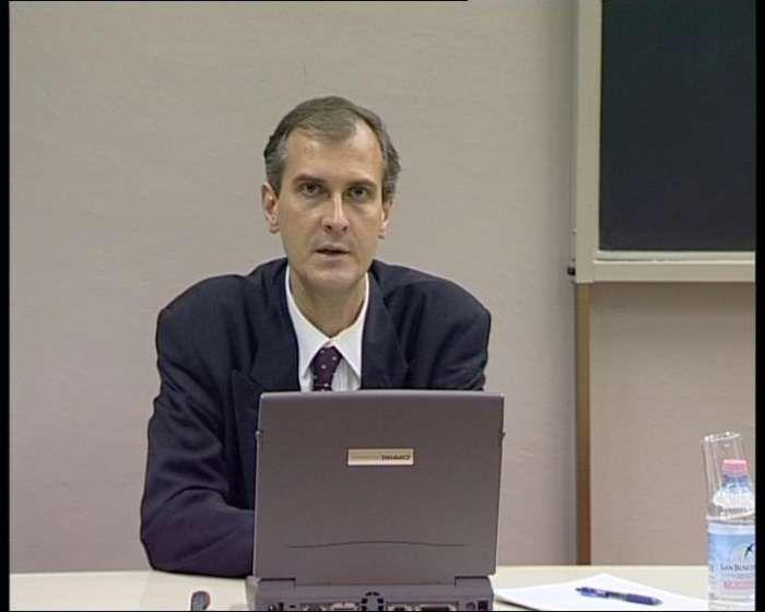 Master Aoste-Sorbonne, le Professeur Mikhail Lebedev