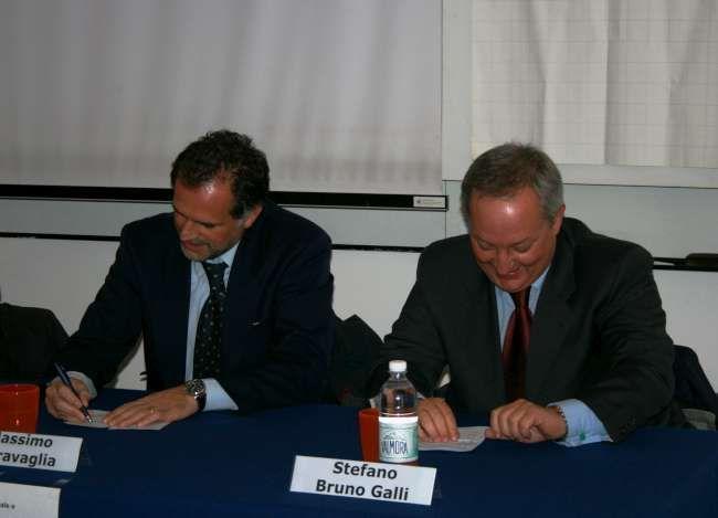 Massimo Garavaglia e Stefano Bruno Galli
