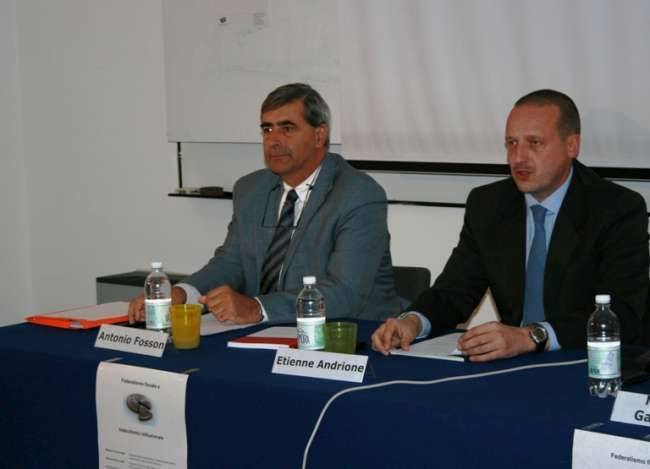 Antonio Fosson e Etienne Andrione