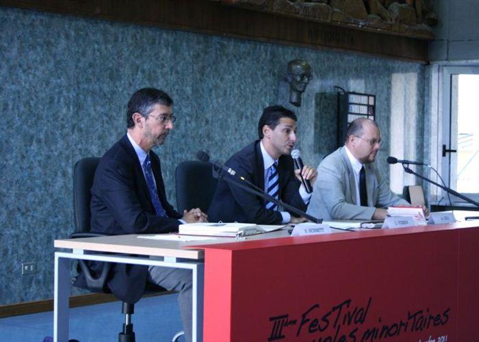 Collège d'études fédéralistes, Nicolas Schmitt, Laurent Viérin et Alessandro Celi