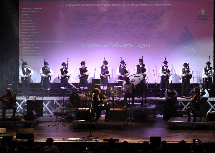Concert de Carlos Nuñez au théâtre romain