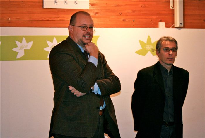 Alessandro Celi et Olivier Forlin, Valsavarenche, novembre 2011