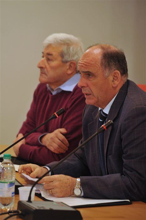 Augusto Rollandin et Pierino Jocollé, Valsavarenche, novembre 2011