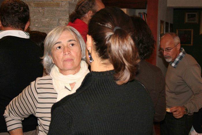 Maura Susanna, accueil des délégations des Peuples frères, Valsavarenche