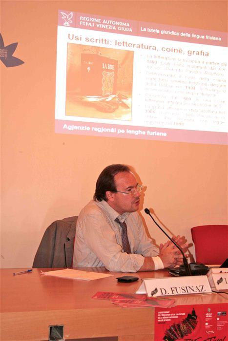 Walter Cisilino, Collège d'études fédéralistes, Valsavarenche