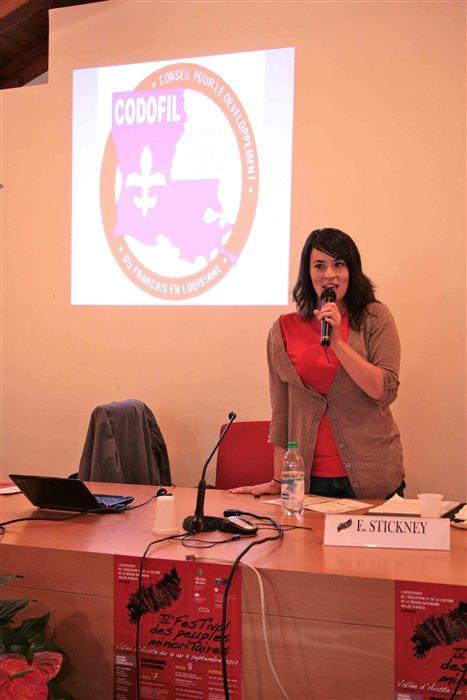 Erin Stickney, Collège d'études fédéralistes, Valsavarenche