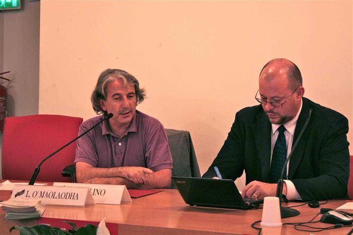Giuseppe Corongiu et Alessandro Celi, Collège d'études fédéralistes, Valsavarenche
