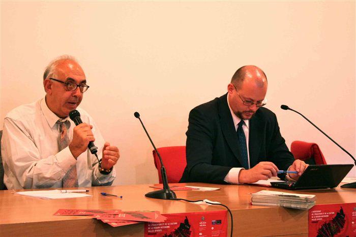 Francesco Candido et Alessandro Celi, Collège d'études fédéralistes, Valsavarenche