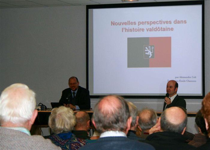 Alessandro Celi et Laurent Perrillat, Annecy, janvier 2013