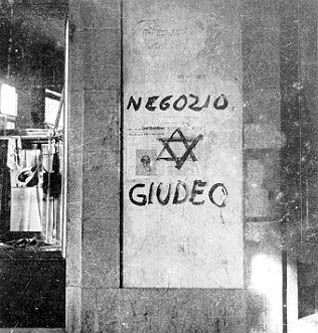 I negozi degli ebrei sono censiti