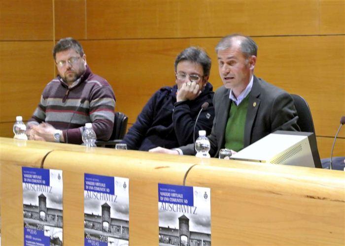 Christian Alleyson, Paolo Curtaz e Albert Chatrian, Arvier, febbraio 2013