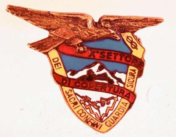 Distintivo del X Settore