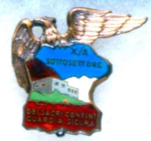 Distintivo del Settore Xa