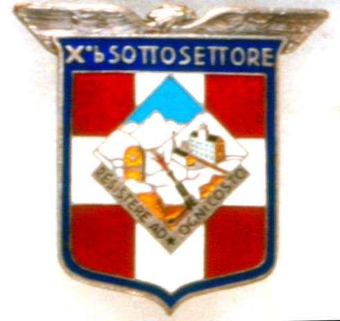 Distintivo del Sottosettore Xb