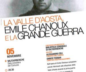 La Valle d'Aosta, Emile Chanoux e la Grande Guerra
