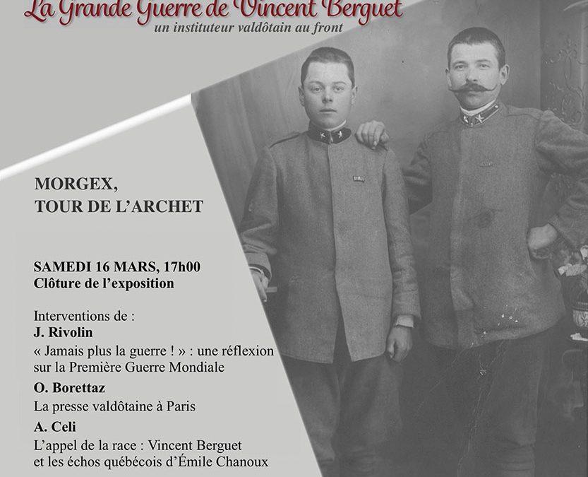 Exposition La Grande Guerre de Vincent Berguet