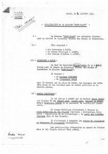 Organisation de la mission Mont-Blanc