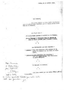 Voyage de Nestor Adam à Paris