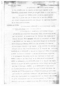 Rapport du Lieutenant Mouscadet