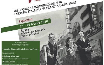 Ciao Italia! Un siècle d'immigration et de culture italiennes en France
