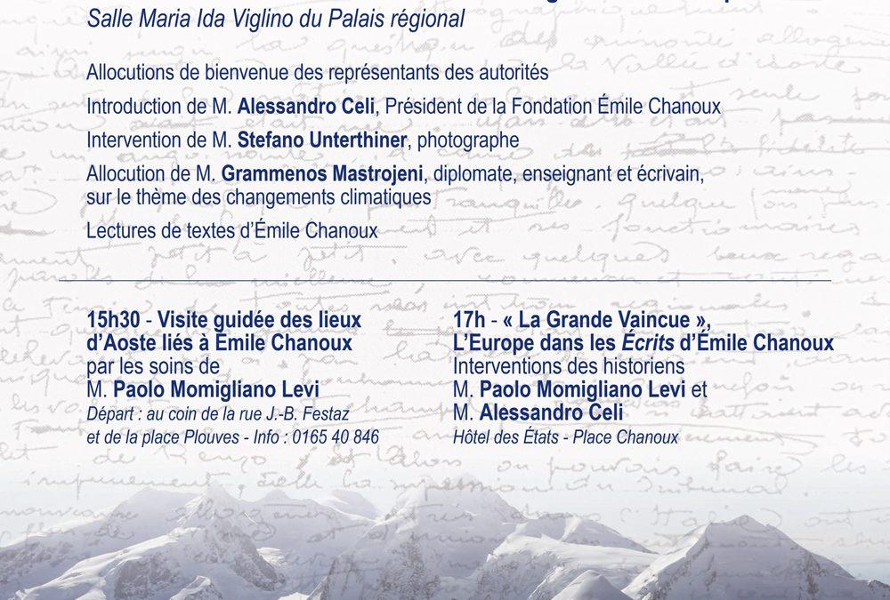 75ème anniversaire de la mort d'Émile Chanoux